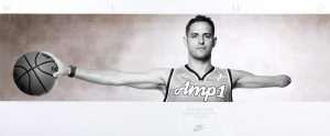 Richard Holding Basketball Nike